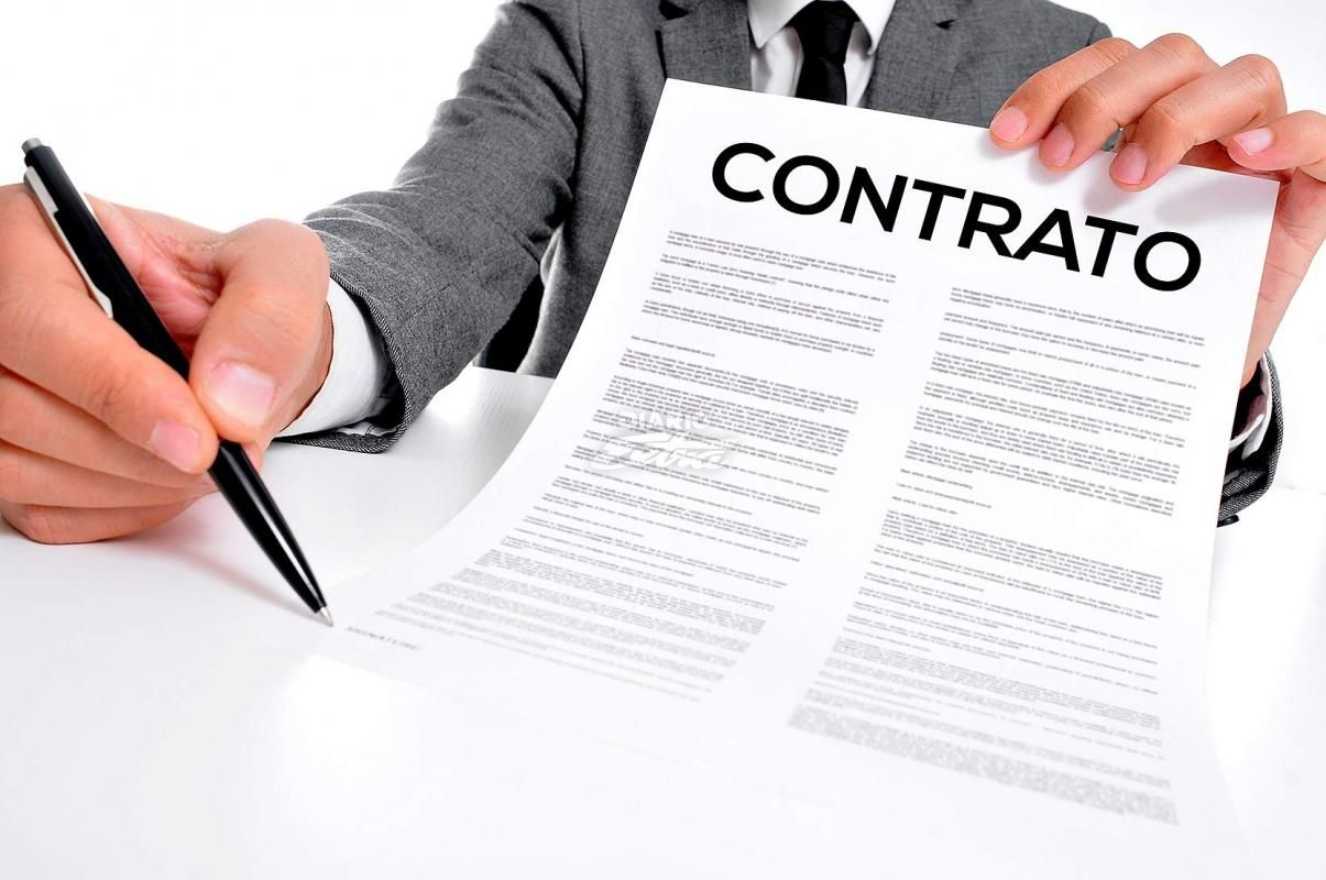 elaboração de contrato